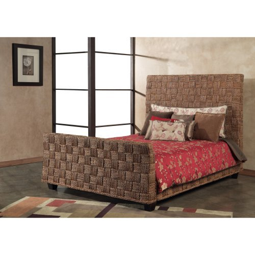 Beachcomber Seagrass Twist Panel Bed