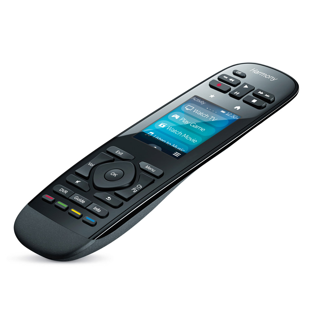 Logitech Harmony Ultimate Remote w/ Touch Screen & Closed...