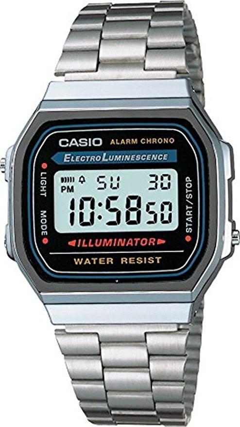 Casio Men's Classic Digital Illuminator Watch A168WA-1