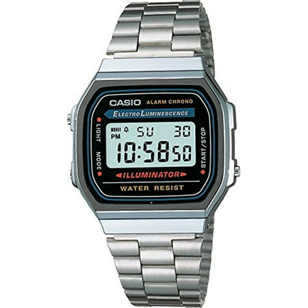 Casio Men's Classic Digital Illuminator Watch A168WA-1 (Casio Vintage Watch)