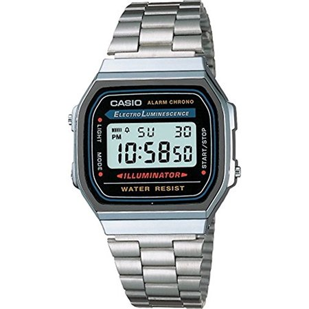 Casio Men's Classic Digital Illuminator Watch A168WA-1 ()