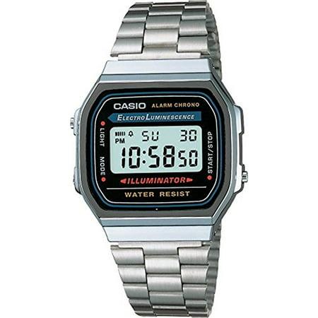 Casio Men's Classic Digital Illuminator Watch A168WA-1 (Watches For Men Casio Gold)