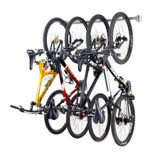 Monkey Bars 1004 4 Bike Storage Rack for Bicycles and Scooters  sc 1 st  Walmart & Monkey Bars 1004 4 Bike Storage Rack for Bicycles and Scooters ...