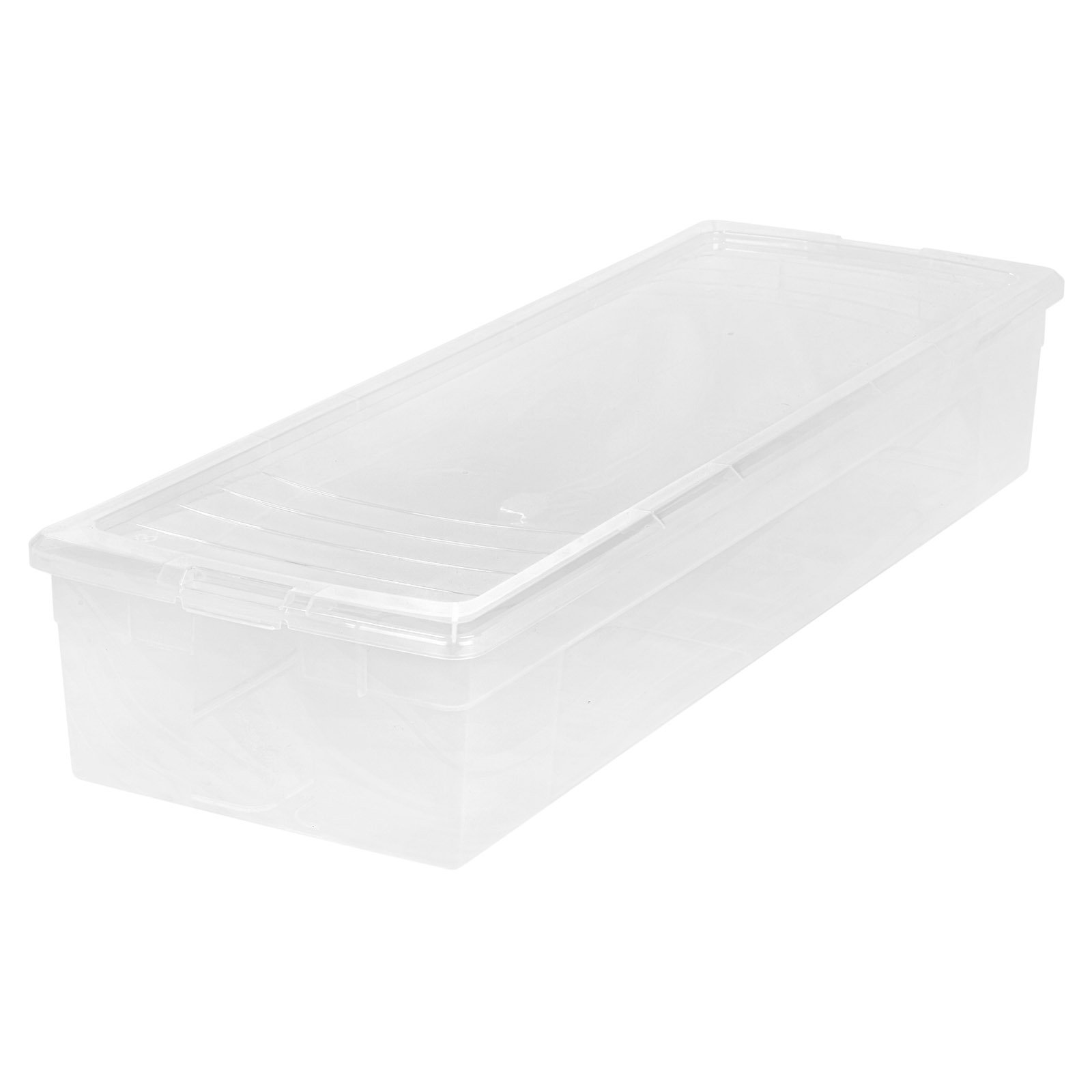 IRIS 30 Inch Wrapping Paper Storage Box, Clear