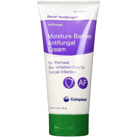 2 Pack - Coloplast Baza Moisture Barrier Antifungal Cream 5 oz