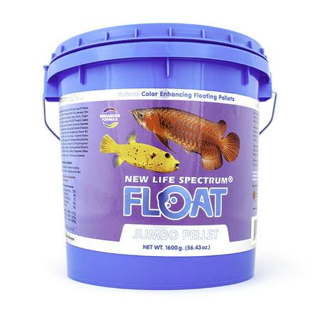 Floating Fish Food - New Life Spectrum Float Jumbo Fish Food Pellets, 1.6 kg