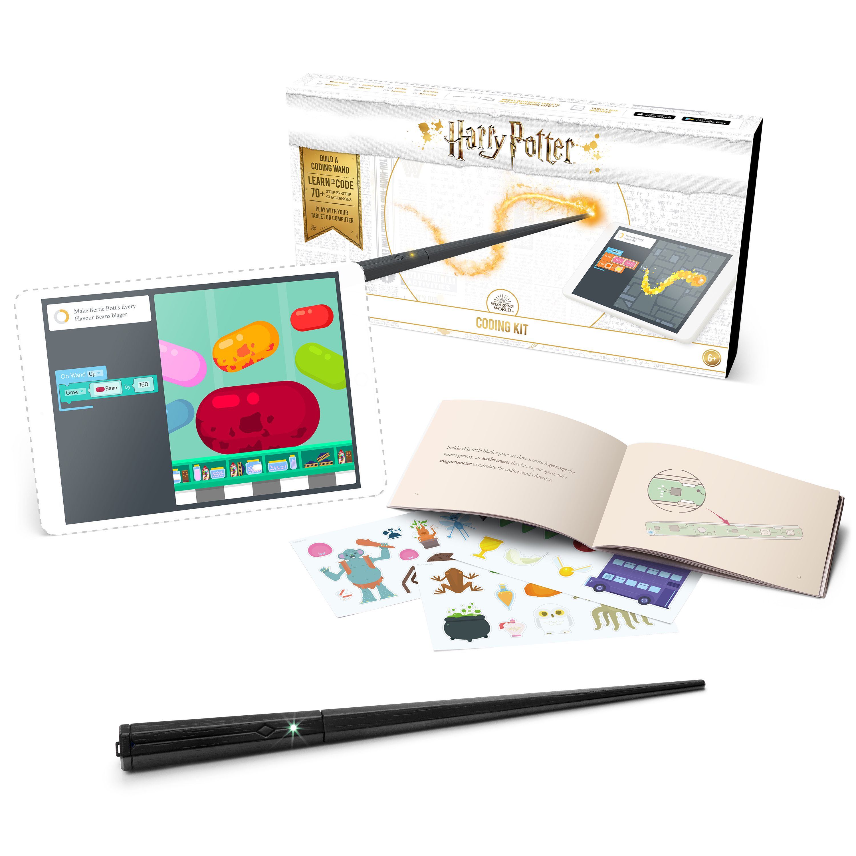 Harry Potter Kano Coding Kit – Build a wand. Learn to code. Make magic
