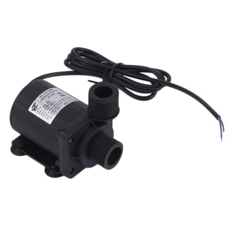 Ultra Quiet Dc 12V Lift 5M 800L H Brushless Submersible Low Noise Water Pump
