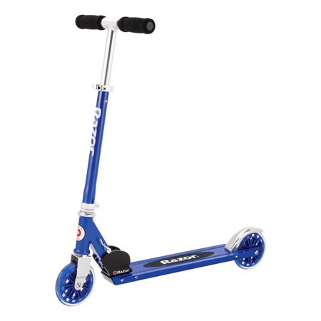Razor A125 Anodized Scooter Blue - Ages 5+ and riders up to 143 lbs