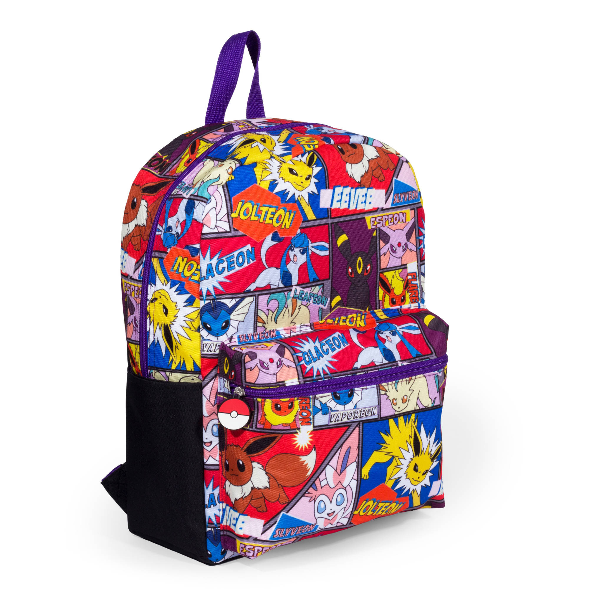 "Pokemon Comic Strip 16"" Kids Licensed Backpack by Fab"