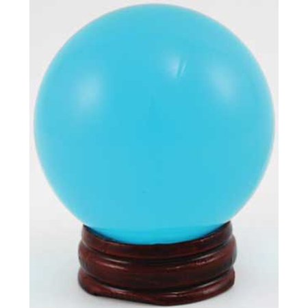 Party Games Accessories Halloween Séance Crystal Balls Divination Tool See  The Future 50mm Aqua Blue 2