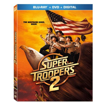 Super Troopers 2 (Blu-ray + DVD + Digital)