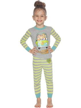 Scooby Doo Boys' Big Mystery Machine Pajama Set, Multi, 10