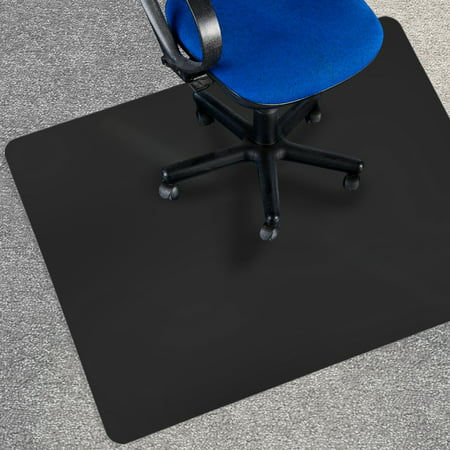 Office Marshal Black Office Chair Mat 36 Quot X 48 Quot Carpet