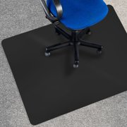 Office Marshal Black Chair Mat 36 X 48 Carpet Floor Protection