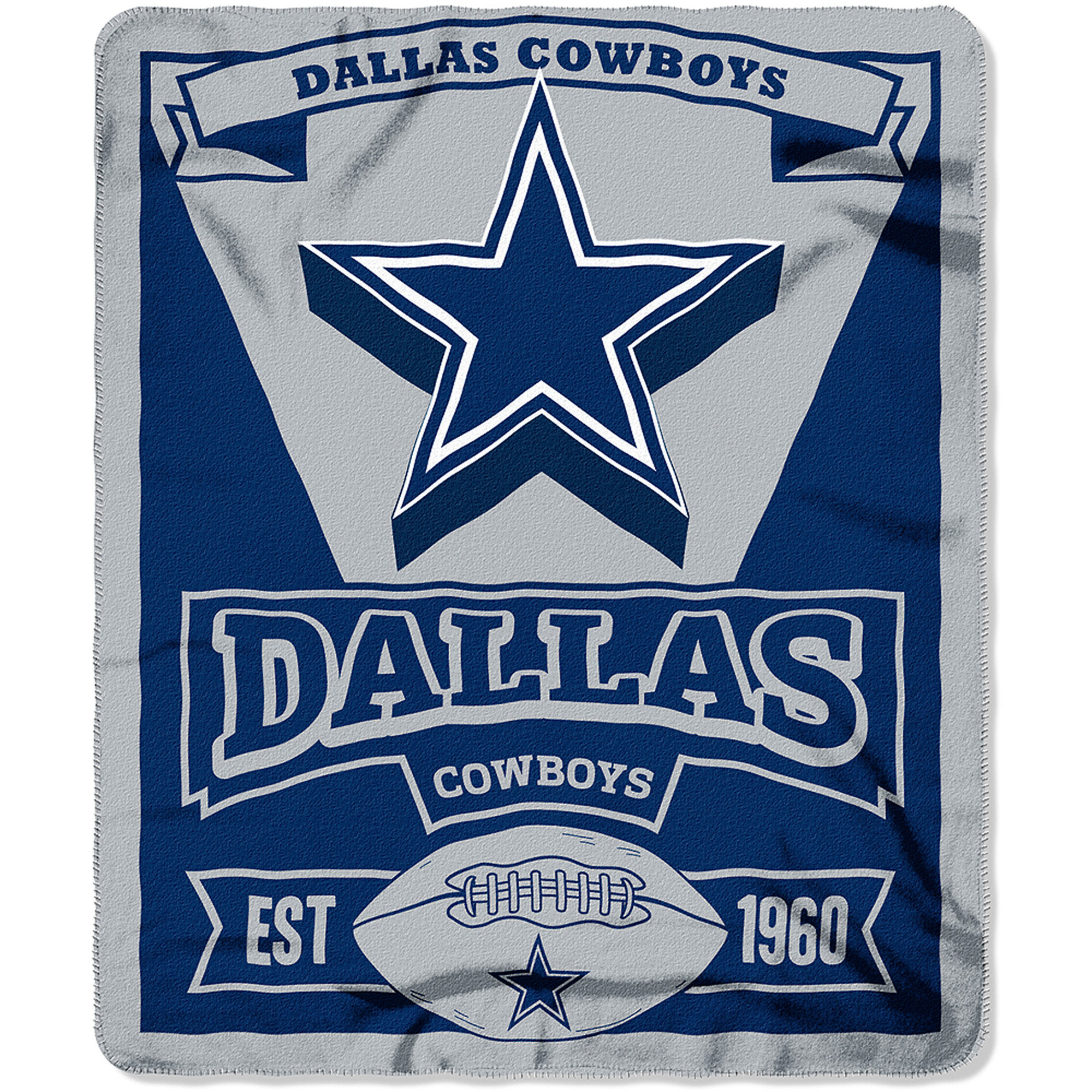 "NFL Dallas Cowboys 50"" x 60"" Fleece Throw"