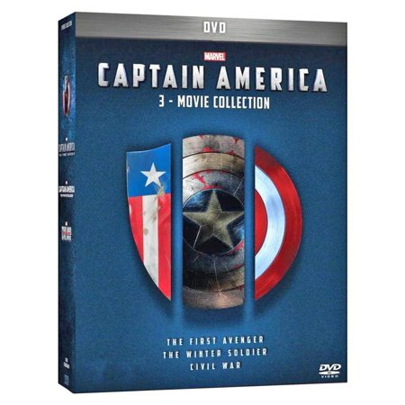 Marvel's Captain America 3-Movie Collection (DVD) - 1990 Captain America Movie