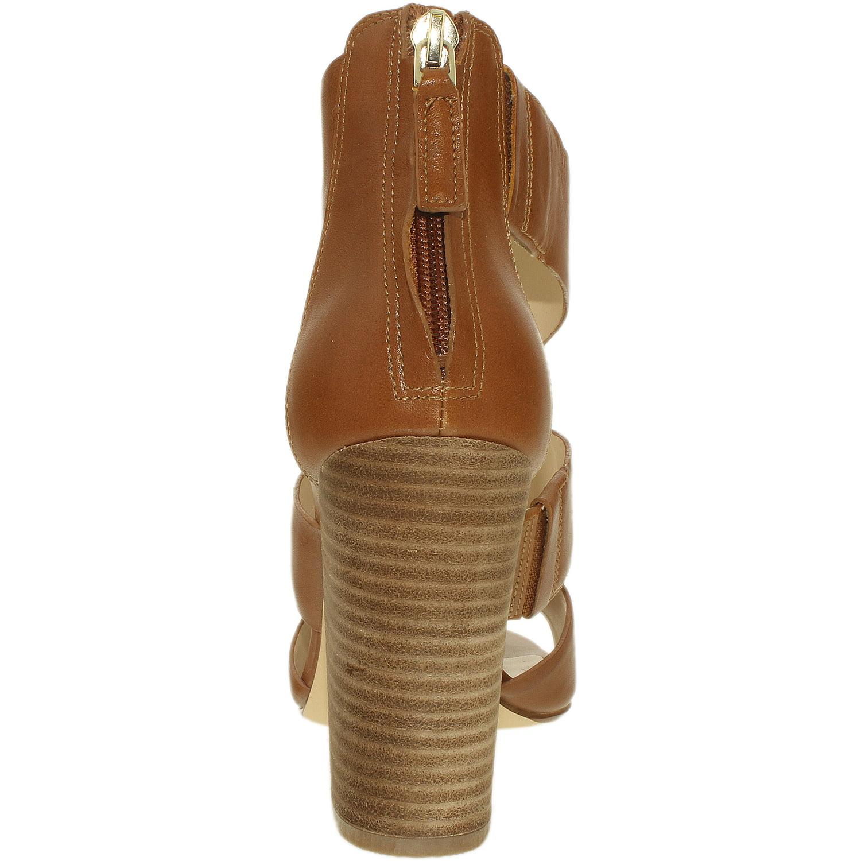 nine west    's roamah cuir cognac cheville pompe haut - 7,5 millions de dollars. 7e9f25