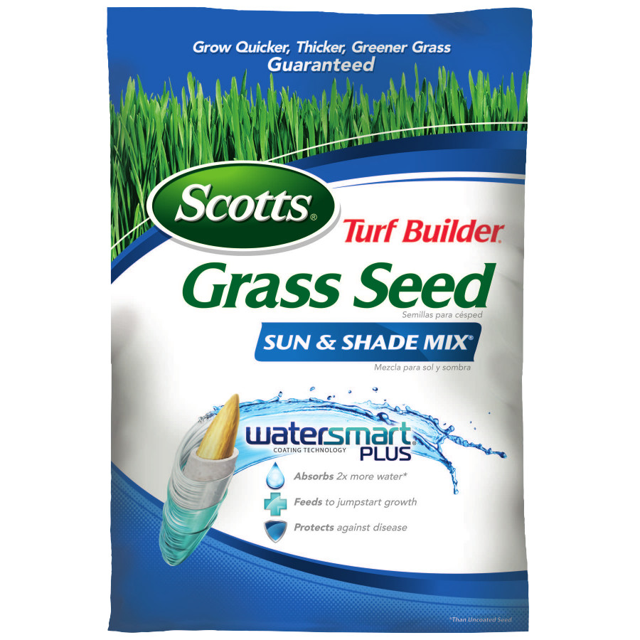 Scotts Turf Builder Grass Seed Sun & Shade Mix 20 lbs