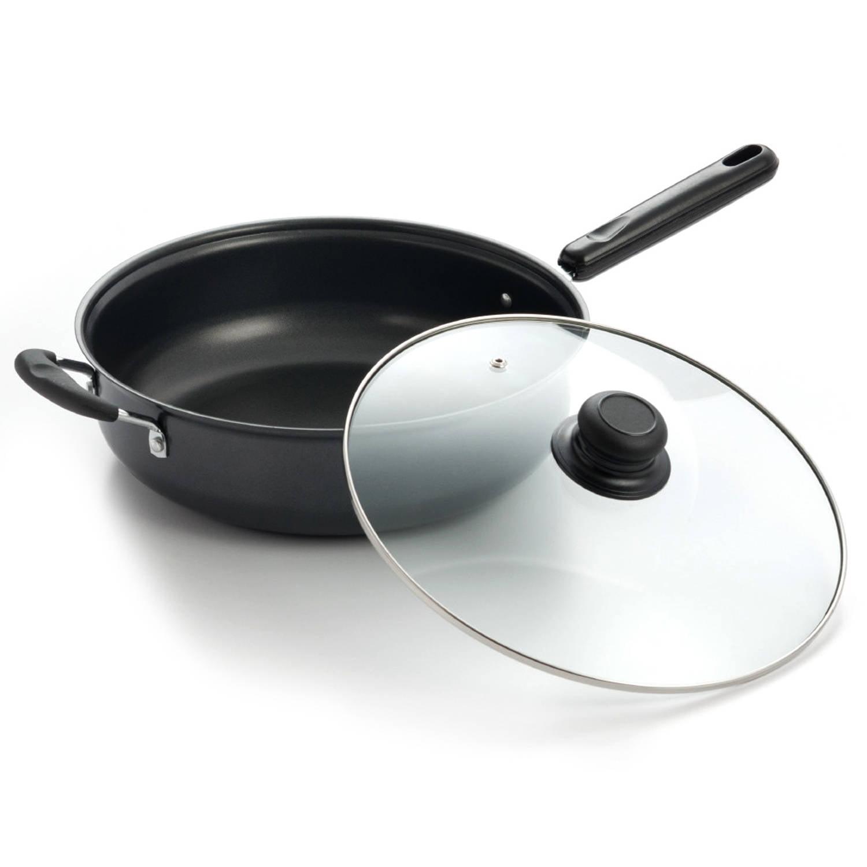 Cook Pro Carbon Steel 5-Quart Chicken Fryer
