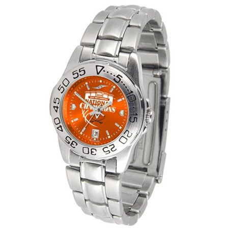 Suntime ST-CO3-VA2-SPORTLM-A Womens Sport Steel Anochrome Watch - Virginia 2019 Mens Basketball Champions Anochrome Ladies Steel Watch