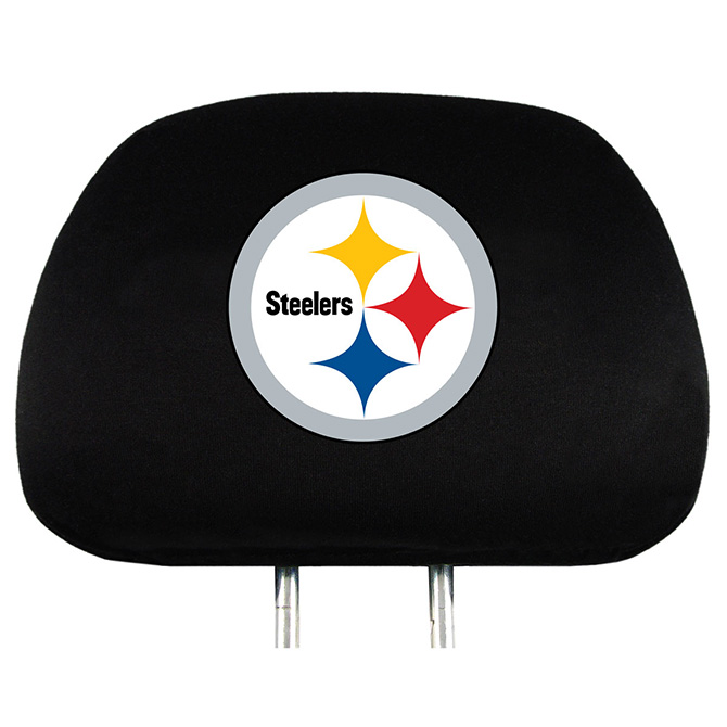 NFL Pittsburgh Steelers Headrest Covers