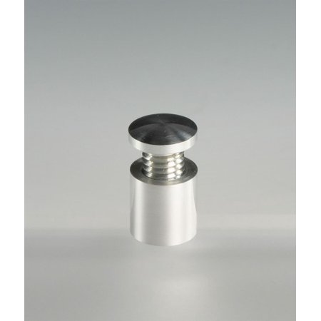 Set of 12 - Standoff Screws, for Displaying Sign Panels - Polished Aluminum (SO1616AL)