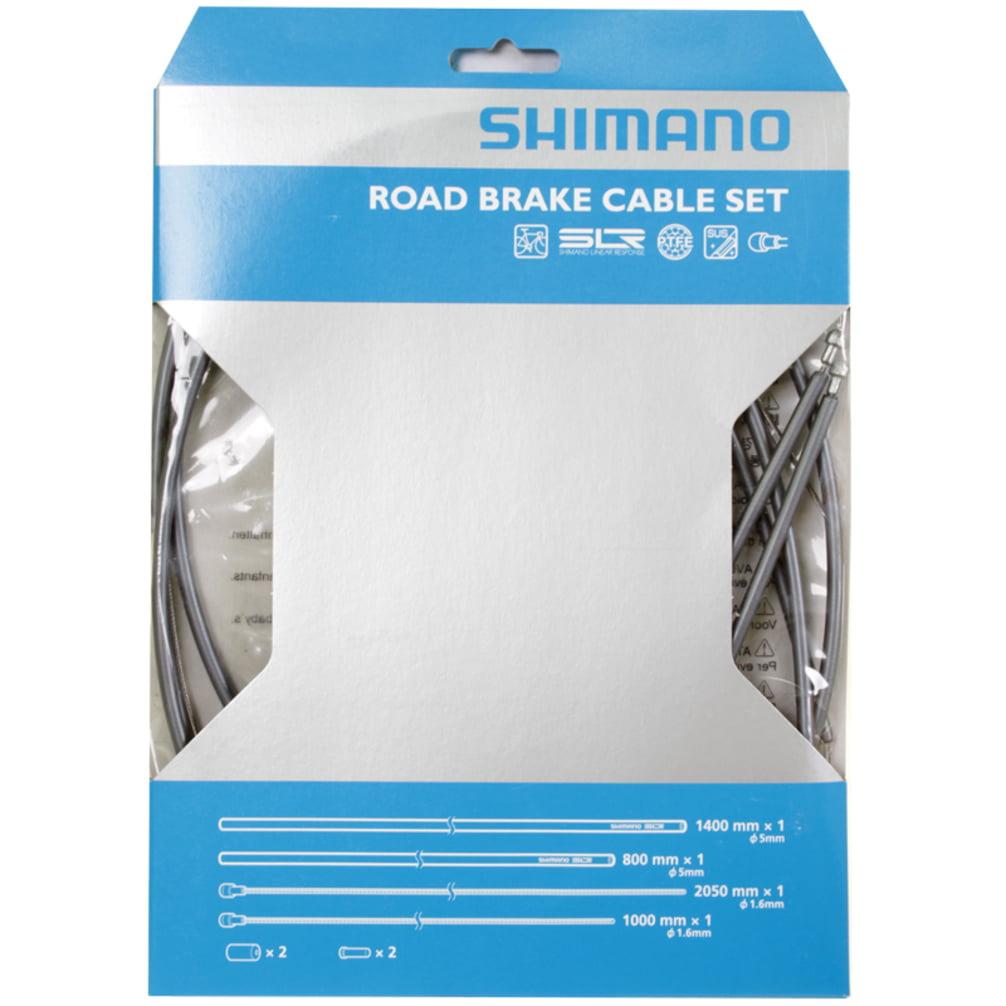 Shimano Road PTFE Brake Cable & Housing Set Gray