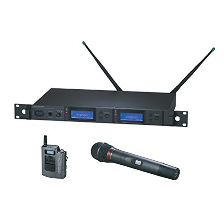 Audio-Technica AEW-5314AD 5000 Series Wireless Handheld Microphone and Body Pack Combo System