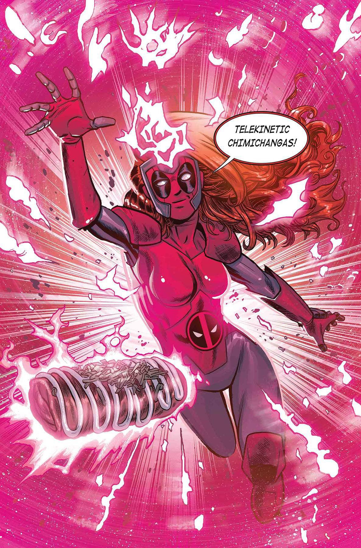 Marvel X-Men Red #4 [Schoonover Deadpool Variant] by