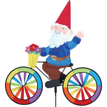 Premier designs gnome bike spinner for Garden spinners premier designs