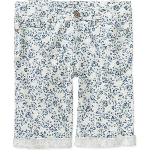 Jordache Women's Printed Bermuda Shorts