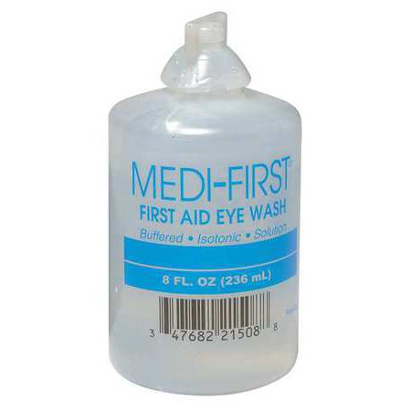 Emergency 8 oz Sterile Eye Wash And Skin Flush Bottle
