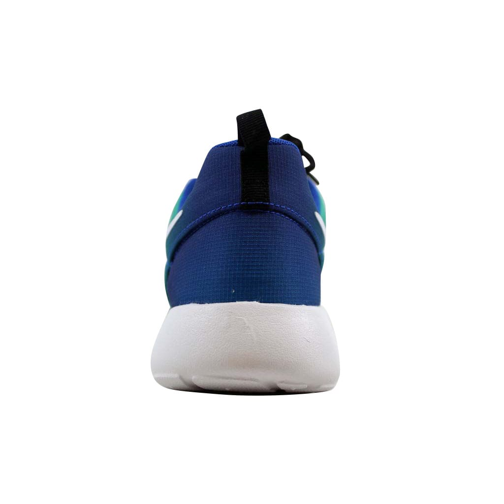 Nike Men's Roshe One Print Game Royal/White-Light Retro-Midnight Navy 655206-414