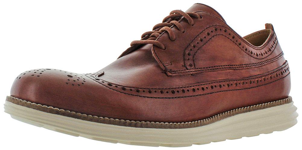 Cole Haan Original Grand Long Wingtip Men S Oxford Dress Shoes Com
