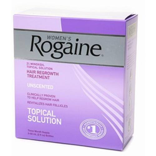 Rogaine Women's Unscented 6 oz (3-Pack) (Pack of 3)