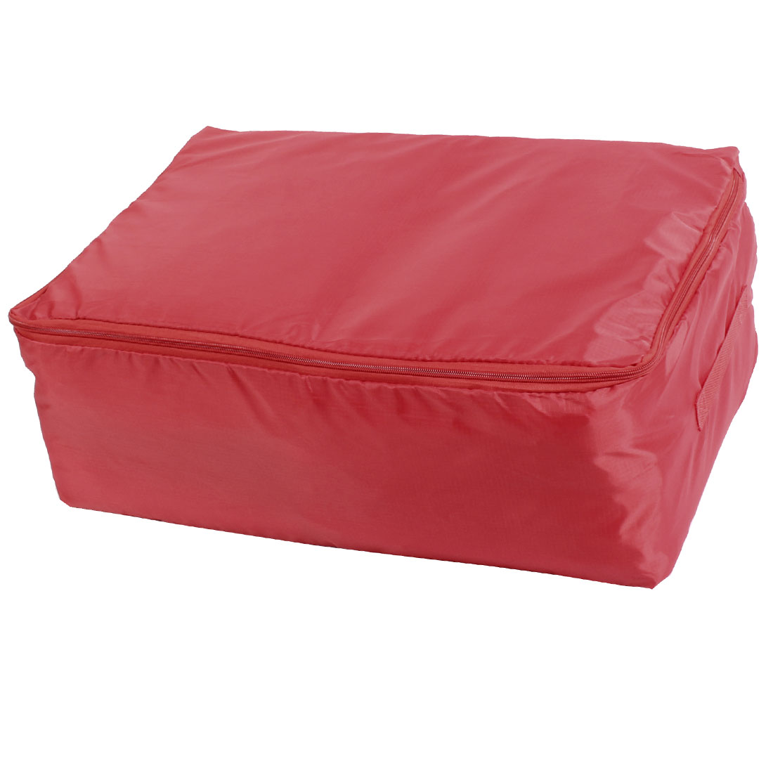 Home Oxford Cloth Water Resistant Zippered Quilt Storage Bag Red 55 x 35 x 20cm