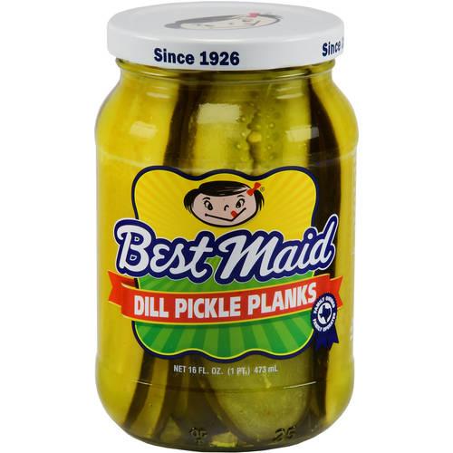 Best Maid Dill Pickle Planks Pickles, 16 fl oz