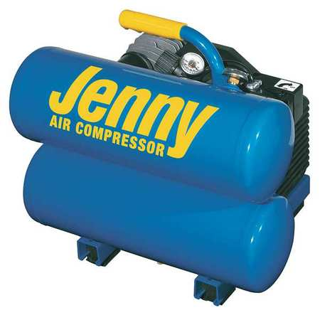 JENNY AM780-HC4V-115/1 Air Compressor, 2 HP, 115V, 125 psi