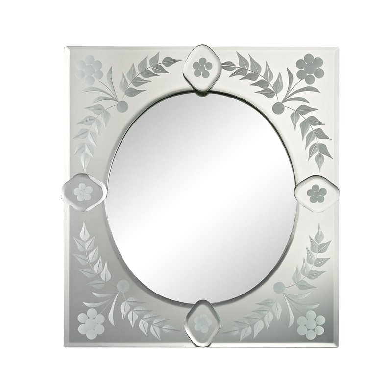 Sterling Venetian Decorative Mirror