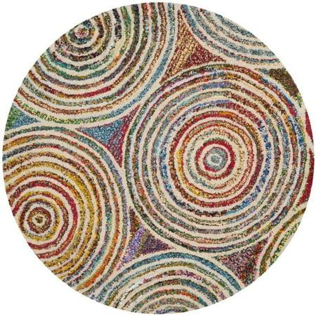 Safavieh Nantucket 9' X 12' Hand Tufted Cotton and Wool Rug in Beige - image 2 de 10