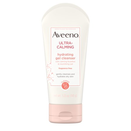 Aveeno Ultra-Calming Hydrating Gel Cleanser for Dry Skin, 5