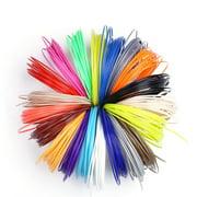 Opolski 10/20 Colors 5m 1.75mm PLA Refill Filament Consumable for 3D Printer Drawing Pen