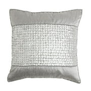 Best Home Fashion, Inc. Mother of Pearl Band Pillow Cover