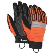 Memphis Glove Size S Leather Palm Gloves,945S