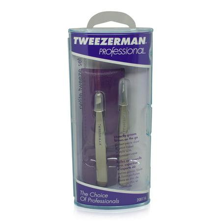 Tweezerman Petite Tweeze Set with Case