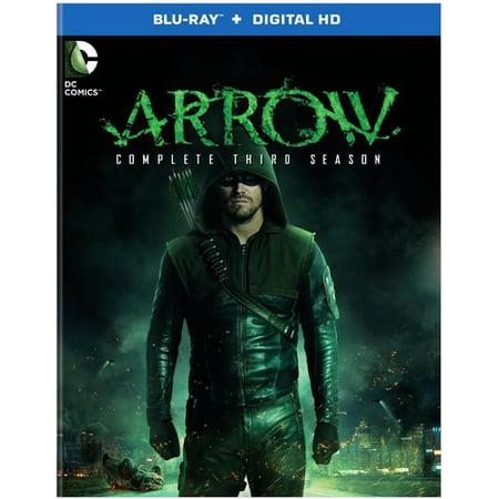 Arrow: The Complete Third Season (DC) (Blu-ray) (Katie Cassidy Halloween)