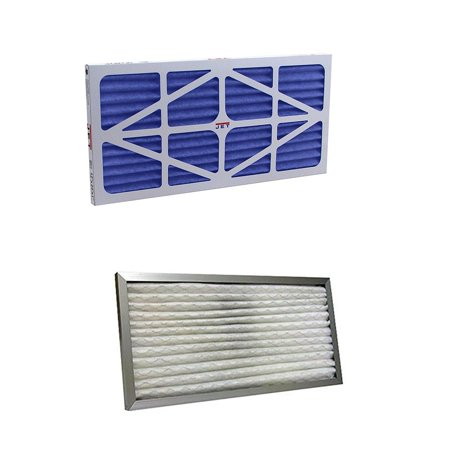 Jet Pleated Electrostatic Replacement Filter w/ Pleated Washable - Replacement Jet