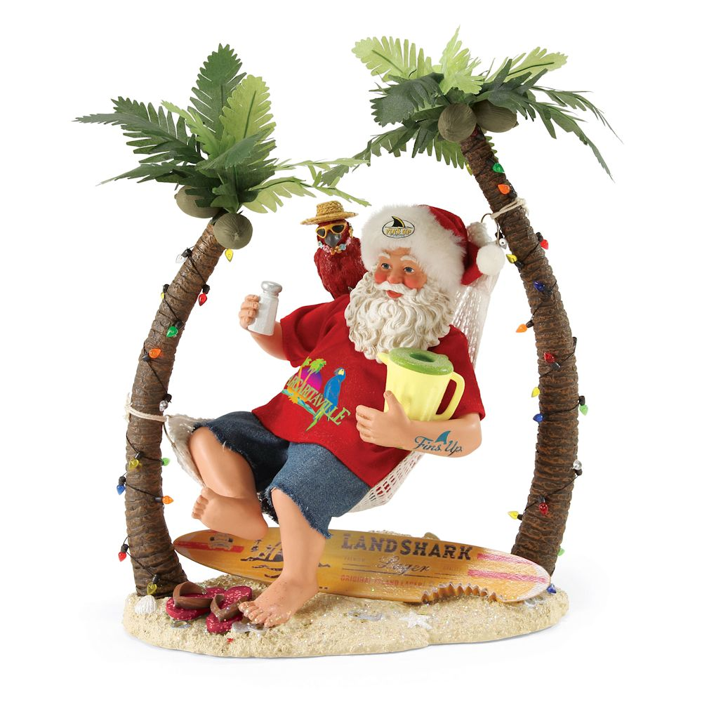 Possible Dreams Margaritaville 4057317 Wastin' Away Again Clothtique Santa