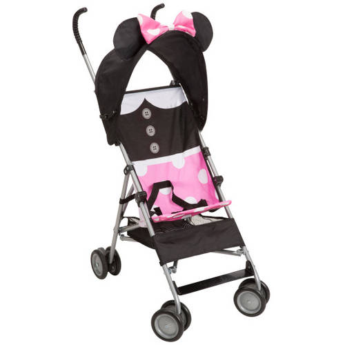 Disney Baby 3D Umbrella Stroller with Basket, Choose Your Character